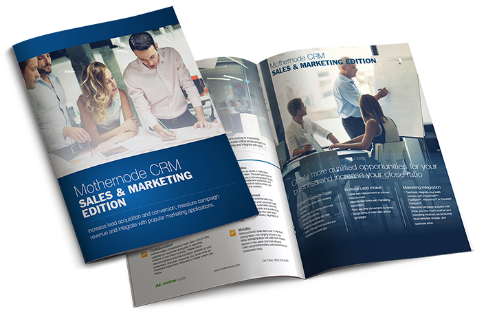 Sales and Marketing CRM